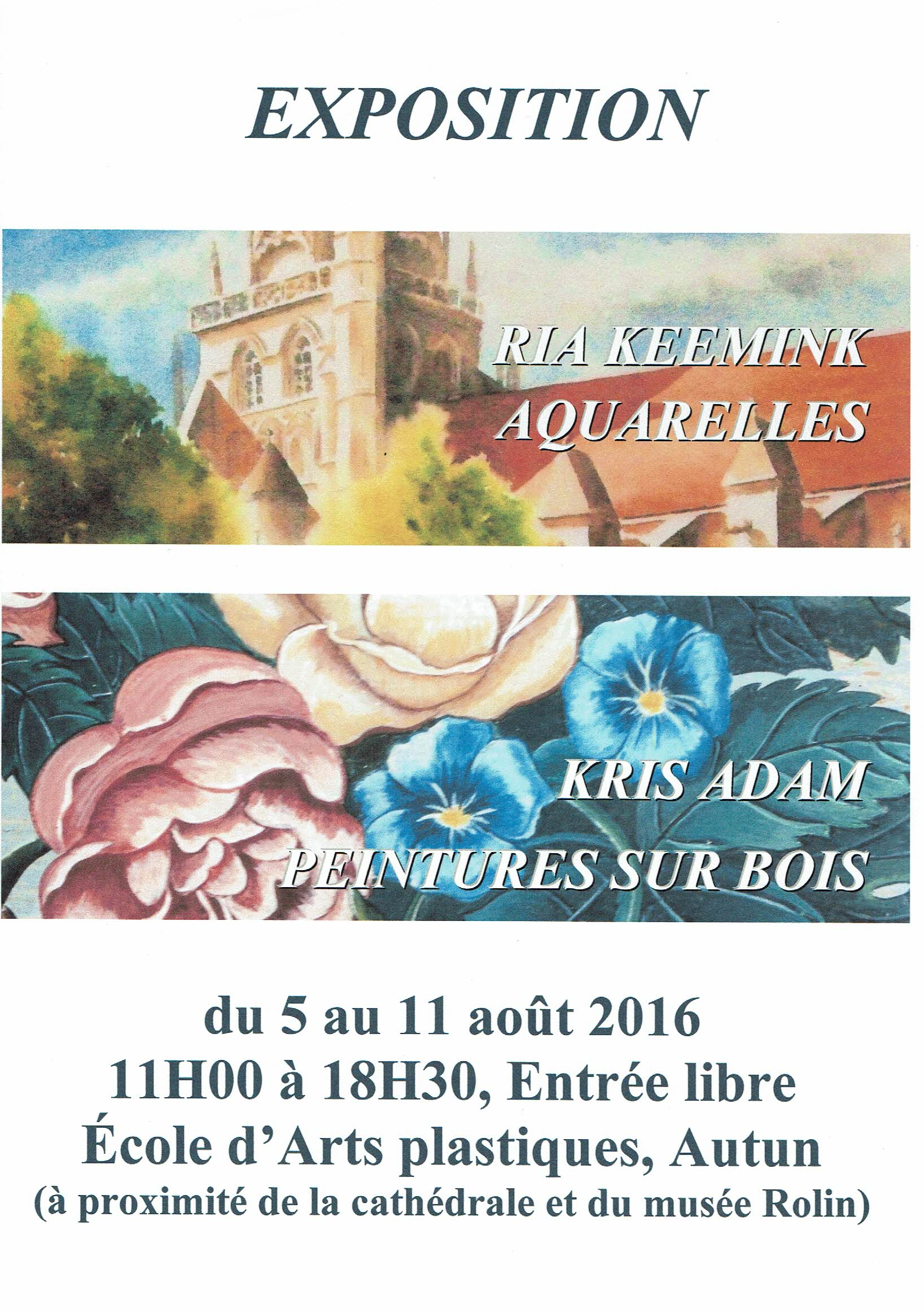 Poster Expo Autun 2016